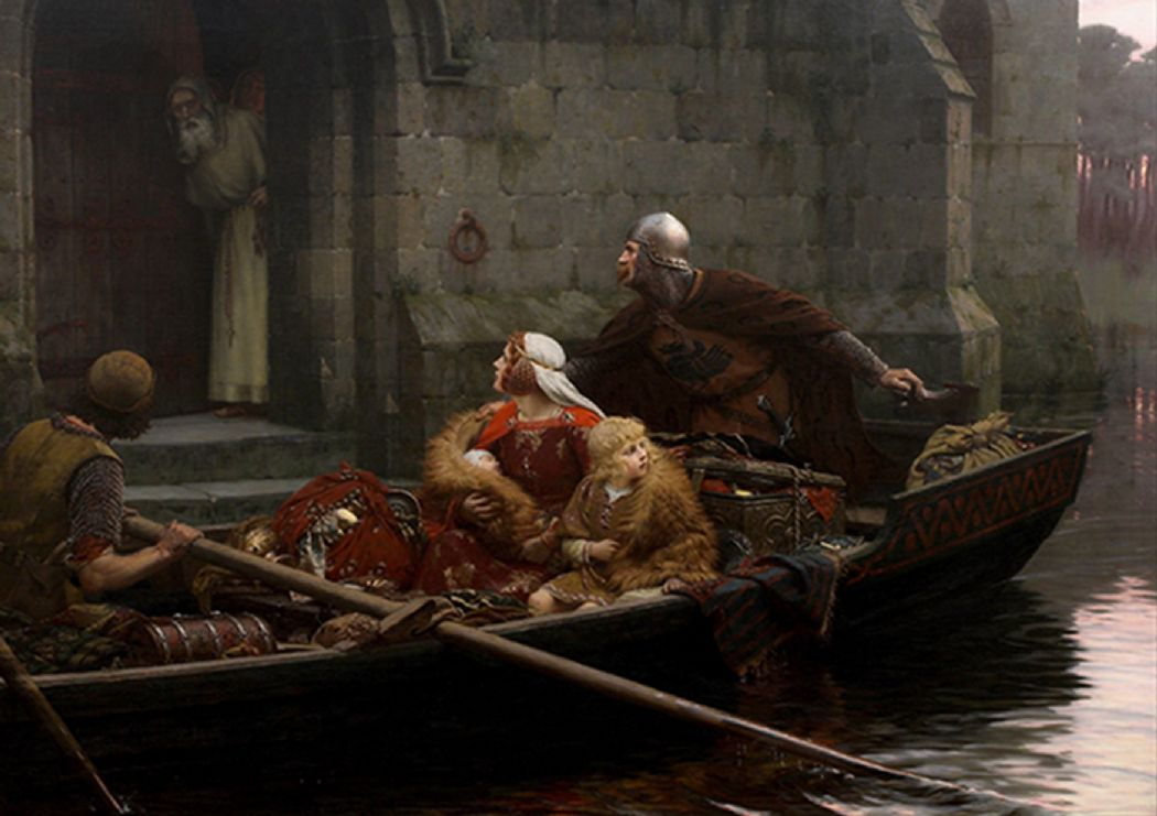 Leighton, Edmund Blair: In Time of Peril. Fine Art Print/Poster. Sizes: A4/A3/A2/A1 (003059)
